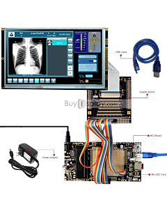 ER-DBTM090-2_MCU 8051 Microcontroller Development Board&Kit for ER-TFTM090-2