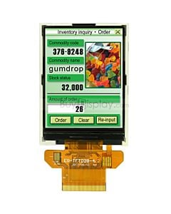 2.8 TFT LCD Module,Serial SPI ,320x240 Display Arduino