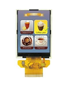 ER-TFT028A3-4 with No Touch Panel Screen