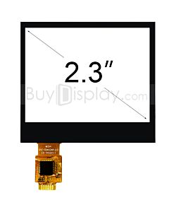 2.3 inch 4 Wire Resistive Touch Panel Screen