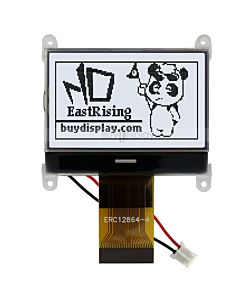 ERC12864FSF-4.10_1.8 inch COG 12864 128x64 LCD Module Touch Panel,ST7565,Black on White