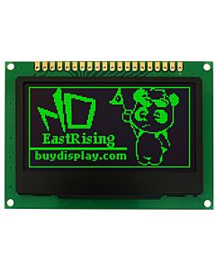 Green 2.4 inch OLED Display 128x64 SSD1309,Arduino Breakout Board