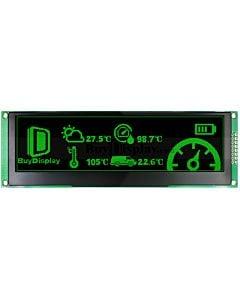 Green 5.5 inch Arduino,Raspberry Pi OLED Display Module 256x64 SPI