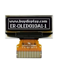 I2C 1 inch Serial OLED Display Module 128x32,SSD1306,White on Black
