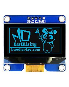 I2C Blue 1.5 inch OLED Display Module 128x64 Arduino,Raspberry Pi