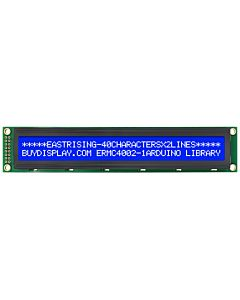 Low-Cost 4002 40x2 Charcter LCD Display Module Blue White Color