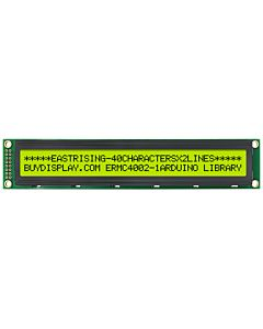 Low-Cost 4002 40x2 Charcter LCD Module Yellow Black Color