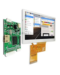 Raspberry Pi Touch Screen 4.3 inch TFT LCD 800x480 Display HDMI Board