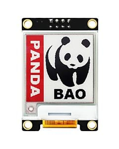 Red 1.54 inch e-Paper Display Module