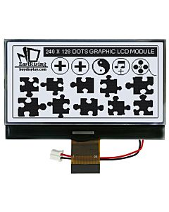 Serial Graphic Module Display 240x128 COG with UC1608 Controller