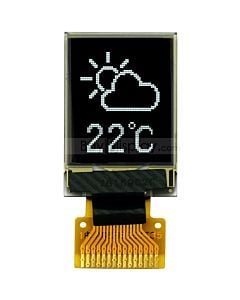 Serial SPI 0.71 inch White 48x64 Graphic OLED Display SSD1306