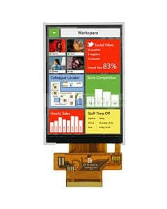 Serial SPI 3.5 inch TFT LCD Module Display in 320x480 ILI9488