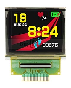 SPI 1.69 inch 160x128 Color RGB OLED Display Panel Free Viewing Angle