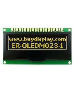 SPI I2C Yellow 2.2 inch Arduino,Raspberry Pi OLED Display 128x32