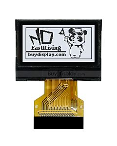 SPI Small 0.96 inch 128x64 Graphic COG LCD Display Module for Smart Watch