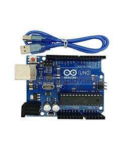 UNO R3 ATmega328P Development Board For Arduino Compatible+USB Cable