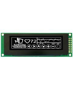 White 2.8 inch Arduino,Raspberry Pi OLED Display Module 256x64 SPI