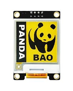 Yellow 1.54 inch e-Ink Display Module