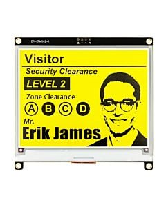 Yellow 4.2 inch e-Paper Display Module