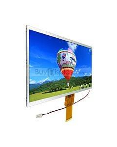 10.1寸TFT LCD彩色液晶显示屏/1024x600点阵彩屏模块/可配触摸屏