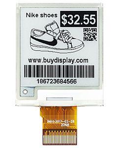 1.54英寸黑白电子墨水屏/200x200分辨率/SPI/带控制芯片SSD1681