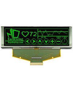 绿色3.2寸OLED显示屏/显示模块/25664/256x64点阵/并串口