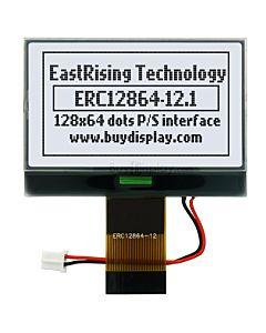 超薄2.1寸LCD12864液晶屏/128x64图形点阵COG液晶模块/白底黑字