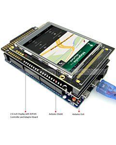 2.6寸TFT LCD彩色液晶显示模块/带转接板/Arduino开发板/ Mega/Due/Uno