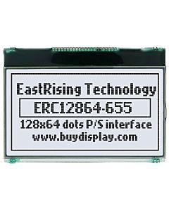 超薄2.8寸LCD12864液晶屏/128x64图形点阵COG液晶模块/白底黑字