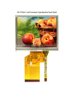 3.5 inch TFT LCD Color Module in 320x240,OPTL Touch Screen,LQ035NC111