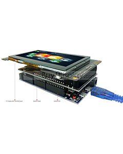 4.3寸TFT彩色全视角液晶显示模块/带SSD1963控制板/Arduino开发板/ Mega/Due