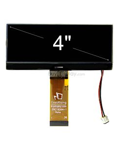 超薄4.3寸LCD19264液晶屏/192x64图形点阵COG模块/黑底白字/中文字库