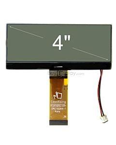 超薄4.3寸LCD19264液晶屏/192x64图形点阵COG模块/白底黑字/中文字库
