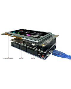 4.3寸彩色液晶模块/配电容式触摸屏/带RA8875控制板/Arduino开发板/Mega/Due/Uno
