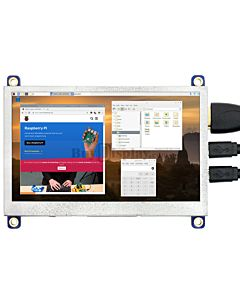 IPS TFT 4.3 inch Display Raspberry Pi w/USB Touch Panel 800x480 HDMI
