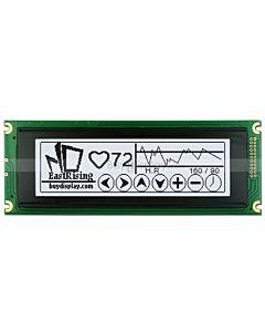 5.2寸LCD24064工控液晶屏/LCM240x64图形点阵液晶模块/白底黑字