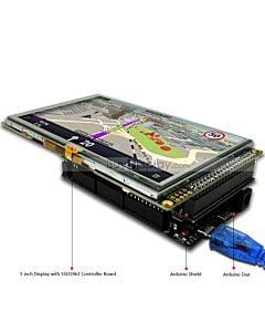 5寸TFT LCD彩色液晶显示模块/带SSD1963控制板/Arduino开发板/ Mega/Due