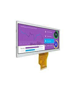 6.5寸TFT LCD彩色液晶模块/800x320点阵/物联网显示屏/可选配触摸屏