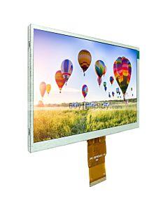 7寸TFT LCD彩色液晶显示屏/1024x600点阵彩屏模块/可配触摸屏/RGB接口