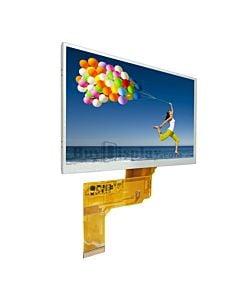 7寸TFT LCD彩色液晶显示屏/800x480点阵彩屏模块/可配触摸屏