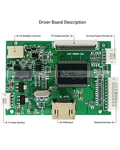 40-50 Pins TFT LCD Display Small  HDMI Driver Board for Raspberry Pi