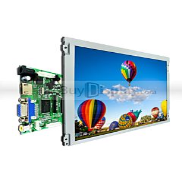12.1寸彩色液晶显示模块配液晶屏驱动板/Video+VGA+HDMI接口