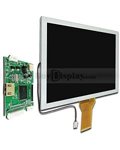 8寸TFT LCD彩色液晶显示模块/配迷你HDMI驱动板/800x600分辨率