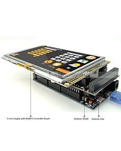 5寸TFT彩色液晶模块/480x272/带RA8875控制板/Arduino开发板/Mega/Due/Uno