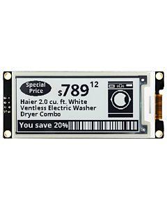 ARDUINO/树莓派2.9英寸电子墨水屏白底黑字带控制器SSD1675A