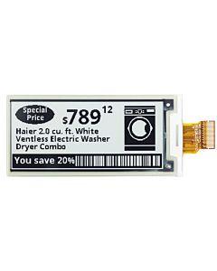 2.9寸超薄黑白电子纸/E-Paper/E-Ink/128x296点阵/SSD1675A