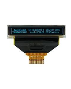 蓝色1.8寸OLED显示屏/显示模块/25632/256x32点阵/并串口