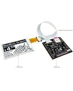 2.7英寸电子墨水屏白底黑字EK79652AC控制IC带ARDUINO转接板