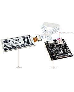 2.9英寸电子墨水屏白底黑字SSD1675A控制IC带ARDUINO转接板