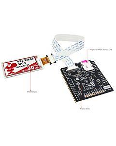 2.13英寸电子墨水屏白底红字212x104分辨率配套ARDUINO转接板